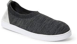 Dearfoams Knit Closed Back Womens Slip-On Slippers