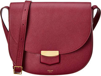 Celine Compact Trotteur Leather Crossbody