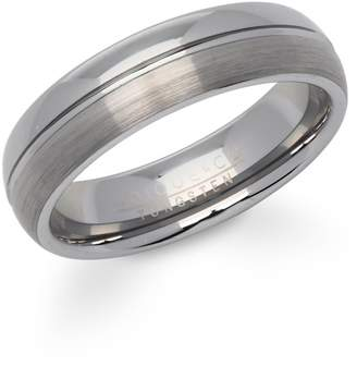 57badb1cd Unique & Co Brushed & Polished Tungsten Carbide ...