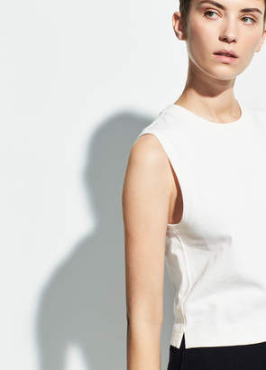 Cropped Shell Tank