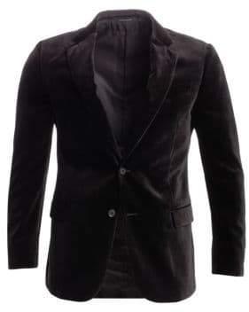 Emporio Armani G Line Textured Velvet Sport Coat