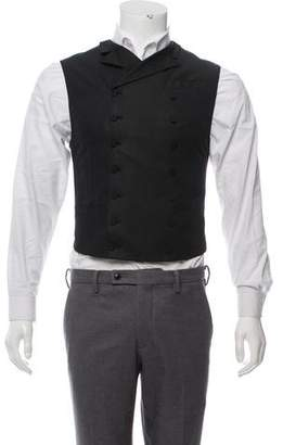 Prada 2012 Notch-Lapel Double-Breasted Vest w/ Tags