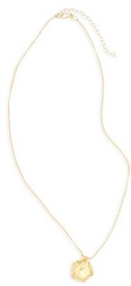 Women's 31 Bits Wild Poppy Pendant Necklace $48 thestylecure.com