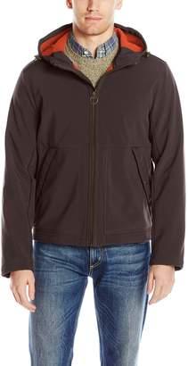 G.H. Bass Men's Sierra Mountain Performance Soft Shell Base Layer Hooded Jacket