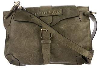 Burberry Leather Logo Crossbody Bag
