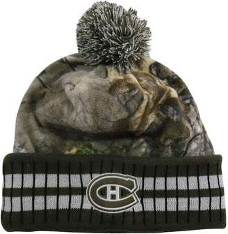 Eton Old Time Montreal Canadiens Realtree Camo Cuffed Knit Hat