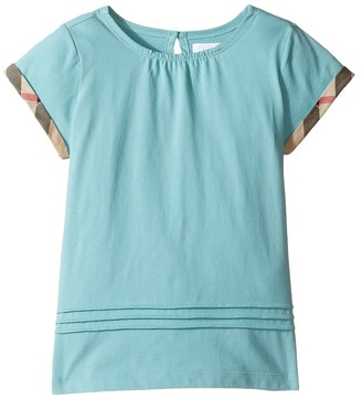 Burberry Kids - Gisselle Tee Girl's T Shirt $85 thestylecure.com