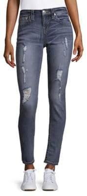 True Religion Destroyed Super Skinny Jeans
