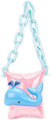 Mary Katrantzou whale inflatable toy chain bag