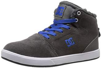 DC Crisis High Want Youth Shoes Sherpa Lined Hi Top Skate Shoe (Little Kid/Big Kid)