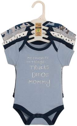 Chick Pea Baby Boy's 5-Pack Cotton Bodysuits
