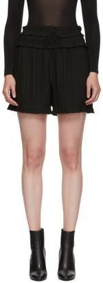 3.1 Phillip Lim Black Pleated Shorts