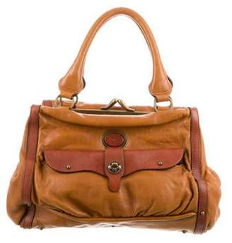 Chloé Leather Maggie Bag Brown Chloé Leather Maggie Bag