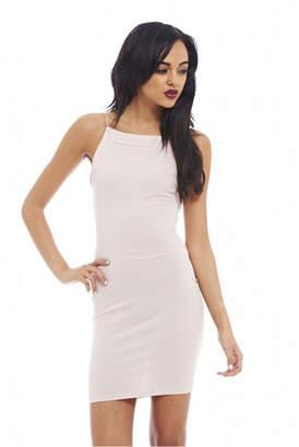AX Paris Bodycon Thin Strap Solid Color Dress