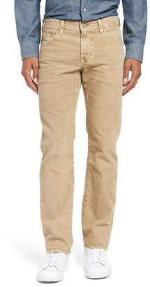 AG Jeans Matchbox Slim Straight Leg Corduroy Pants