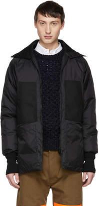 Junya Watanabe Black Canada Goose Edition Down Jacket