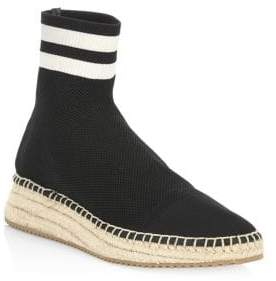 Alexander Wang Dylan High-Top Espadrille Sneakers