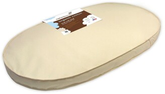 Naturepedic Organic Cotton Oval Crib Mattress for Stokke Sleepi Crib