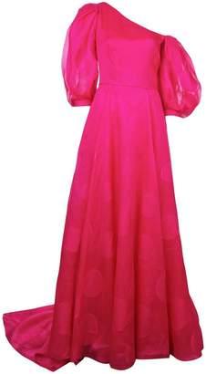 Carolina Herrera puff sleeve long dress