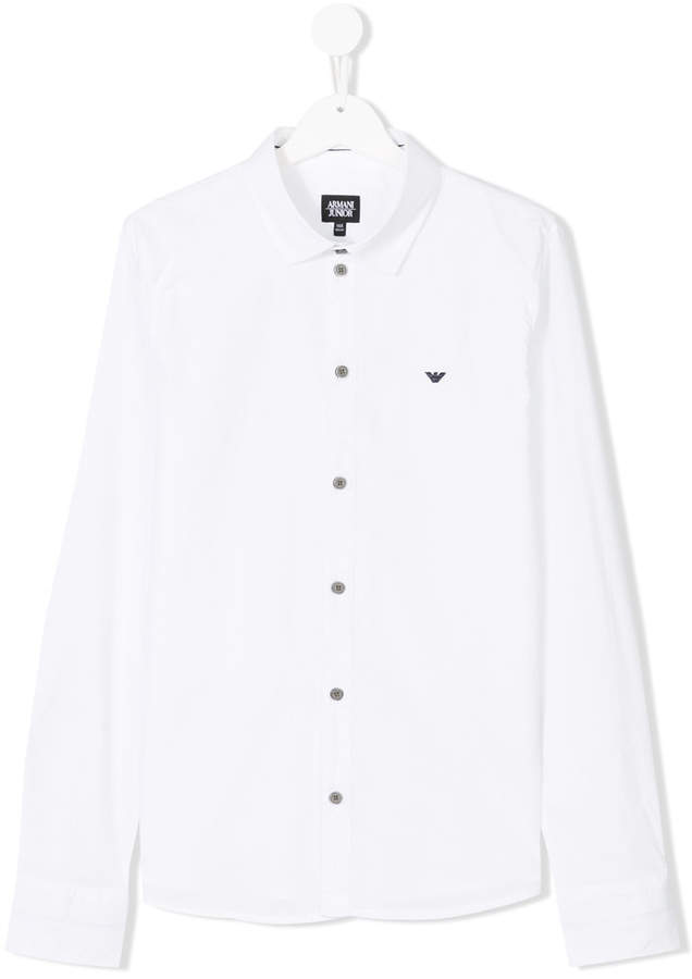 long sleeve logo shirt