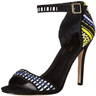 Nicole Miller Women's Jillion Heeled Sandal