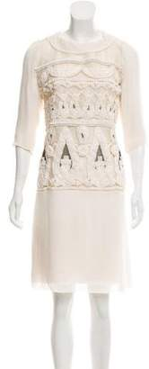 Christian Lacroix Wool & Silk Dress