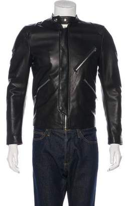 Acne Studios Neil Taped Leather Jacket