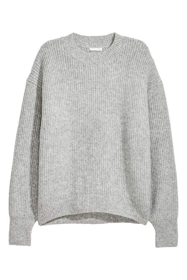 H&M Rib-knit Sweater