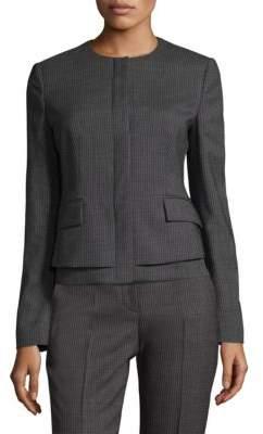 BOSS Jasyma Fantasy Stretch-Wool Jacket