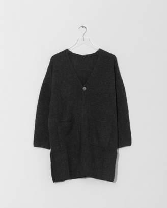 Pas De Calais Charcoal Cardigan Knit