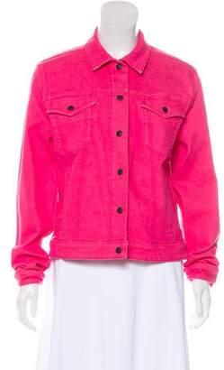Rag & Bone Long Sleeve Denim Jacket