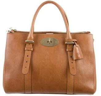 Mulberry Bayswater Double Zip Bag $825 thestylecure.com