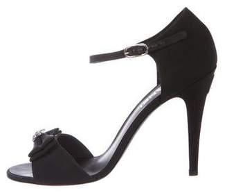 Chanel CC Embellished Sandals