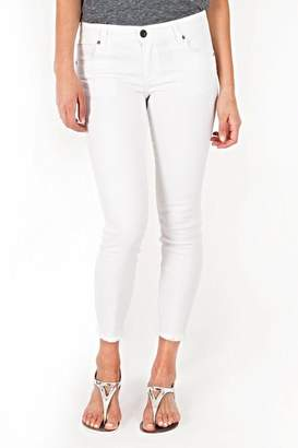 KUT from the Kloth White Ankle Skinny