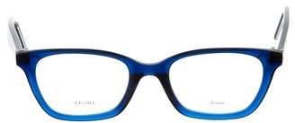 Celine Acetate Rectangular Eyeglasses w/ Tags
