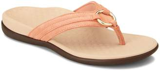 Vionic Tide Aloe Suede Thong Sandals