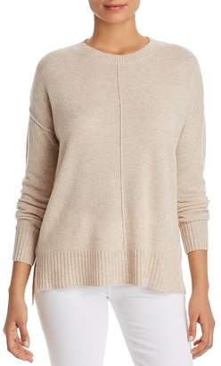 Bloomingdale's C by High/Low Cashmere Crewneck Sweater - 100% Exclusive