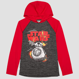 Star Wars Novelty Fleece Hoodie-Big Kid Boys