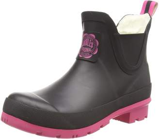 Joules Women's Wellibob Chelsea Boot Rubber 7 B US
