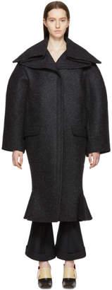 Jacquemus Grey Le Manteau Espagne Coat