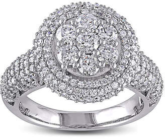 JCPenney MODERN BRIDE 2 CT. T.W. Diamond 10K White Gold Bridal Ring