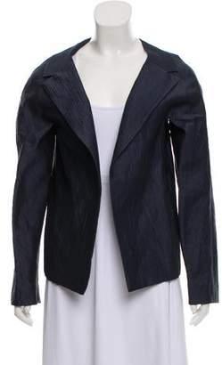 85a0b8f0c2 Linen Open Front Jacket - ShopStyle