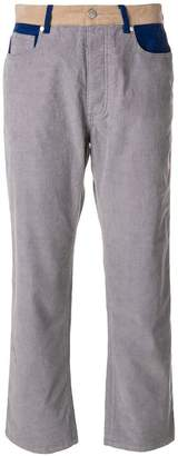 Zadig & Voltaire Zadig&Voltaire Boyish Velours cropped trousers