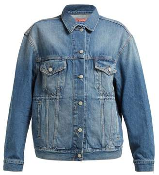 Acne Studios Trash 2000 Denim Jacket - Womens - Denim