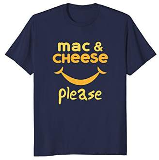 M·A·C Mac & Cheese Please Funny Graphic T Shirt