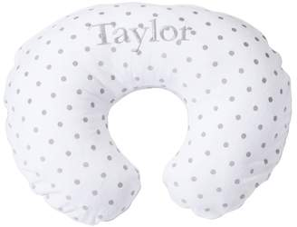 Pottery Barn Kids Gray Stripe/Dot Boppy® Nursing & Infant Support Pillow Slipcover Only