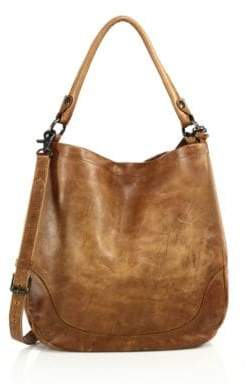 Frye Melissa Leather Hobo Bag