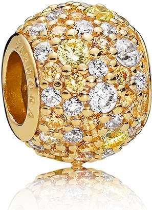 Pandora Shine Golden Mix Pave Charm