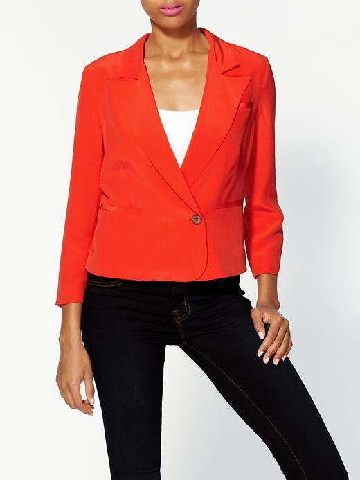 Joie Barberry Silk Blazer