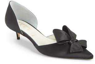 Something Bleu Cliff Bow d'Orsay Pump